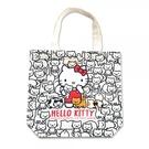 小禮堂 Hello Kitty 直式帆布...