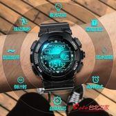 兒童錶 可變形兒童手錶男女啪啪防水鋼鐵俠防摔電子錶小學生禮物玩具