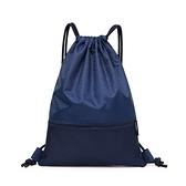 束口包 尼龍束口袋後背包防潑水運動背包學生足球籃球包大容量輕便定制包 芊墨 新品