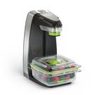 【美國FoodSaver】輕巧型真空密鮮器/真空保鮮機 FM1200 經濟版-黑 超商限1台