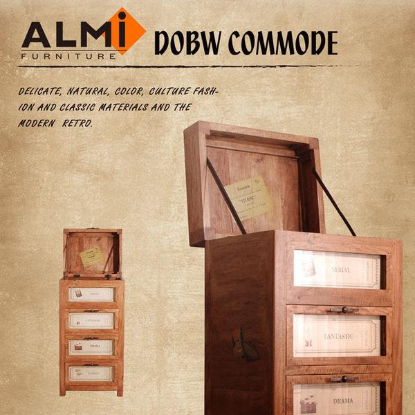 【ALMI】WORLD-3 DRAWERS & TRAP BOX 掀蓋三抽櫃