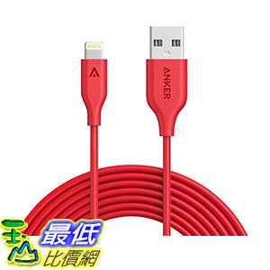 [106美國直購] Anker PowerLine Lightning(10ft) Apple MFi Certified Lightning Cable/Charger Cord充電線 傳輸線