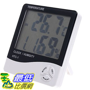[現貨]  LCD Digital   溫溼度計 Temperature & Humidity Meter HTC-1 H596  _TB1