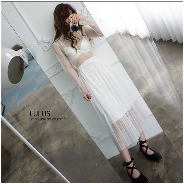 LULUS-N蕾絲三線造型內衣+小褲褲-32-36-5色  現+預【01090134】