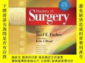 二手書博民逛書店Mastery罕見Of Surgery, 2 Volume Set-精通手術,2卷集Y436638 Josef
