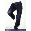 【東門城】OVERLAP STREET RAW 防摔牛仔褲(藍)
