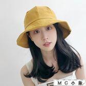 韓版百搭日系原宿防曬遮臉漁夫帽
