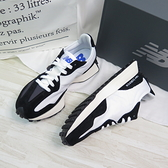 New Balance 327 男女款 休閒鞋 運動鞋 公司貨 MS327LB1 黑白配色 全尺碼【iSport愛運動】