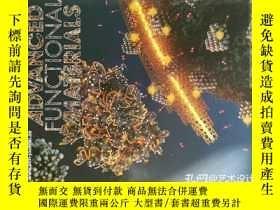 二手書博民逛書店Advanced罕見Functional Materials 2013 09 25 先進功能材料學術期刊Y11