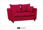 【MK億騰傢俱】BS156-02荷艾呢雙人布沙發