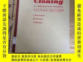 二手書博民逛書店Molecular罕見Cloning: A Laboratory