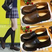 軟妹娃娃鞋女日系圓頭可愛jk制服鞋夏女學生大頭娃娃鞋ulzzang  韓風物語