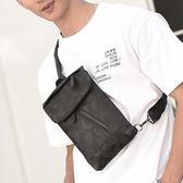 迷彩胸包男運動休閒側背包學生小背包男士戶外多功能 黛尼時尚精品