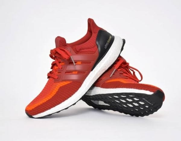 ADIDAS ULTRA BOOST RED Gradient Primeknit 紅 馬牌 AQ4006