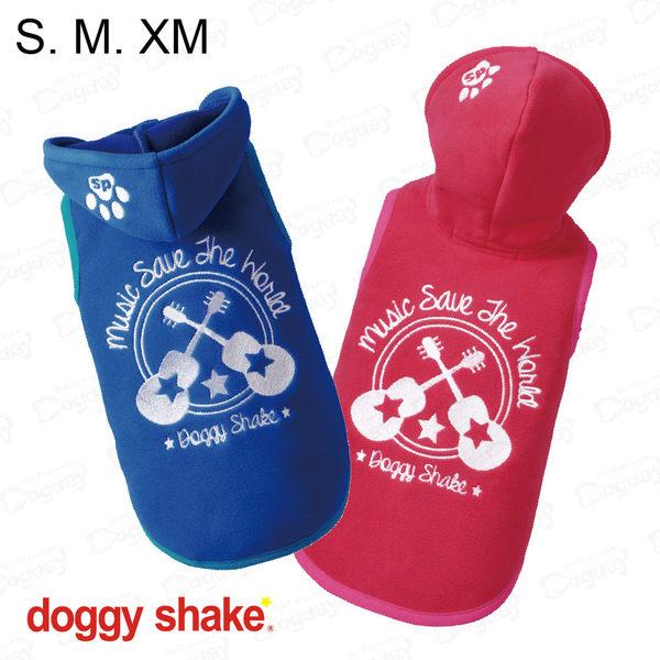 日本《Doggy Shake》音樂帽T S/M/XM 狗狗發熱衣 狗衣服 冬衣