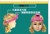 寫字矯正器視力保護兒童提醒支架糾正姿勢架護眼小學生防坐姿 七色堇