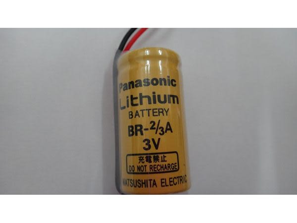 全館免運費【電池天地】Panasonic 國際牌 BR-2/3A 3V  不可充鋰電池