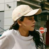 學院風韓國春夏季時尚棒球帽女韓版字母刺繡鴨舌帽子潮男  俏女孩
