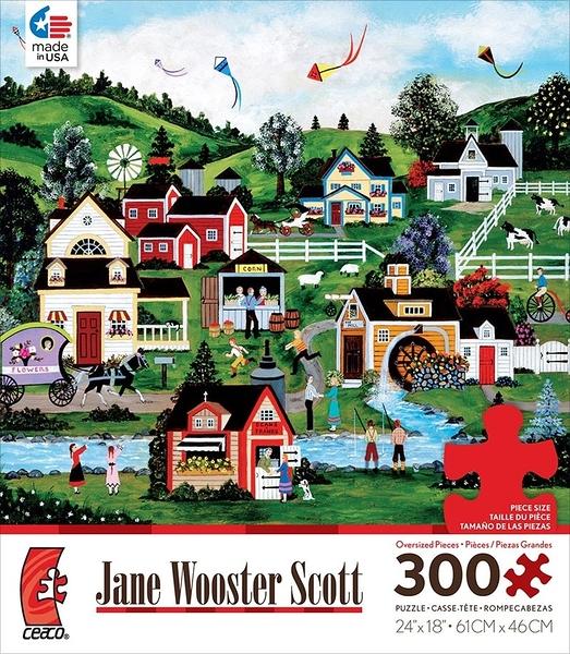 【美國 Ceaco】盒裝拼圖-Jane Wooster Scott Assorted(300片) #2204-22