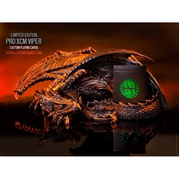 【USPCC 撲克】DEVO Dominion PRO XCM VIPER DECKS 毒蛇 撲克牌