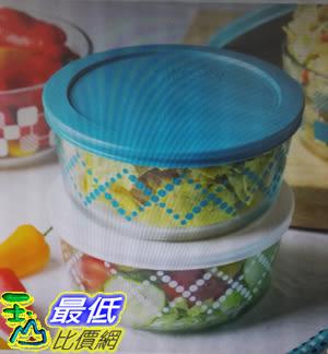 [COSCO代購] W1049123 Pyrex玻璃保鮮盒含蓋共8件組 圓形