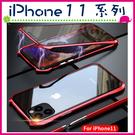 Apple iPhone11 Pro Max 蝙蝠俠萬磁王背蓋 雙面保護殼 磁吸手機套 全包邊手機殼 金屬邊框保護套