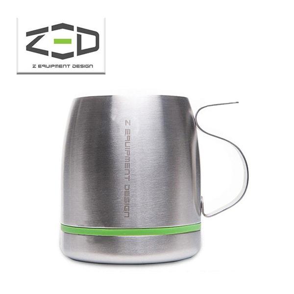 【ZED】雙層不鏽鋼杯 400ml ZCABA0203 戶外│露營│登山│隔熱杯│斷熱杯│茶杯│咖啡杯