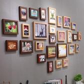 照片牆景宇北歐簡約裝飾客廳照片牆相框牆創意歐式相框掛牆組合相片牆 歐亞時尚