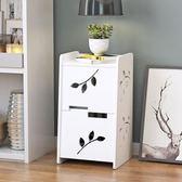 好康推薦簡易床頭櫃歐式簡約現代床邊小櫃子迷你經濟型臥室客廳組裝儲物櫃jy