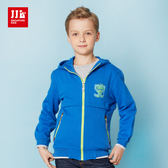 JJLKIDS 男童 美式學院風休閒外套(彩藍)