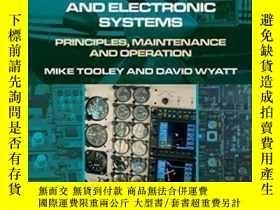 二手書博民逛書店Aircraft罕見Electrical And Electronic Systems: Principles M