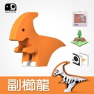 【HALFTOYS 哈福玩具】恐龍樂園 PARA 副櫛龍 SF00406
