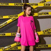 [現貨] 亮麗粉紅長板速乾運動上衣 LTB37441 運動衣 長板衣 瑜珈衣 運動衣