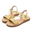 全真皮材質柔軟超舒適 特殊鞋底材質輕便又耐磨 活力色系打造悠閒度假感