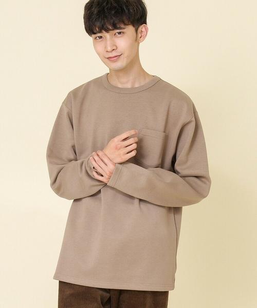 特價 雙層織 裏起毛 抓毛絨圓領衛衣 日本品牌【coen】