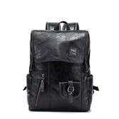 後背包-皮革時尚潮流旅行電腦包男雙肩包73in5【時尚巴黎】