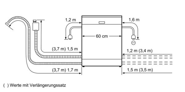 博世 BOSCH洗碗機 獨立式 60cm SMS68IW00X