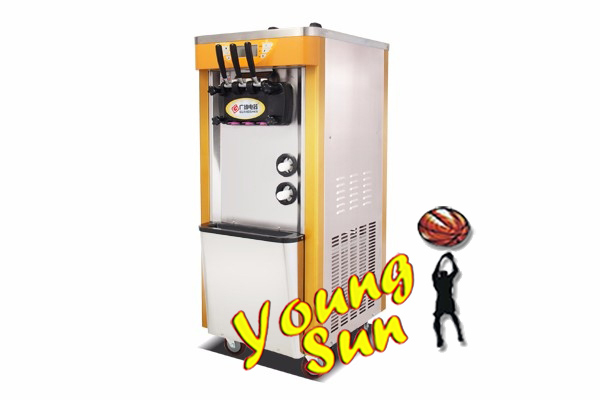霜淇淋機商用 冰淇淋機 三色甜筒雪糕機 全自動立式霜淇淋 DIY製冰機暑假透心涼 出租/出售