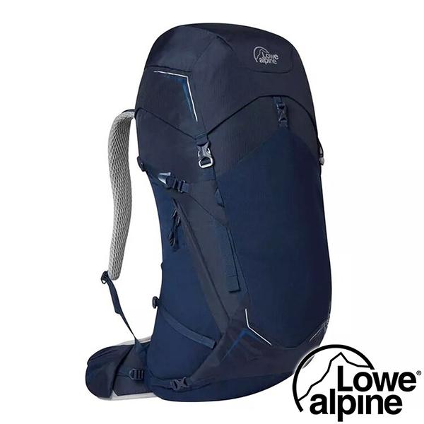 【英國 LOWE ALPINE】AirZone Trek 35:45透氣健行背包 35+10L『海軍藍』FTE-89 登山包.後背包