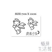 10張|可愛天使小熊 魔法少女 腳腕紋身貼刺青【極簡生活】
