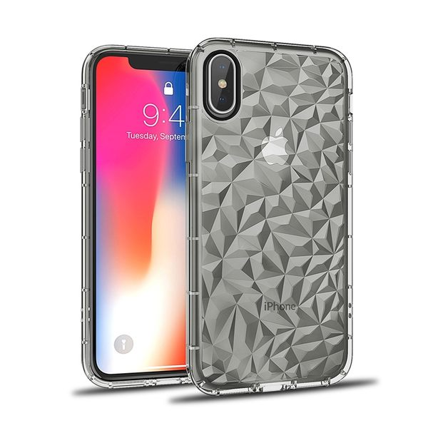 【SZ34】三星S9 plus 手機保護套 S8 S8Plus鑽石紋空壓殼 Note8透明防摔軟殼