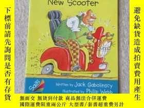 二手書博民逛書店Grandpa s罕見New Scooter(Sails Nar