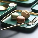 西餐盤 陶瓷盤子菜盤北歐西餐盤長方形 莎...