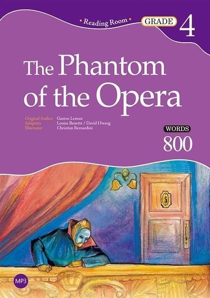 The Phantom of the Opera【Grade 4】(2nd Ed.)(25K+1MP3)