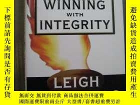 二手書博民逛書店WINNING罕見WITH INTEGRITY 簽名本Y10980 WINNING WITH INTEGRIT