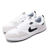 Nike 休閒鞋 SB Alleyoop 白 黑 男鞋 滑板鞋 運動鞋 【PUMP306】 CJ0882-100