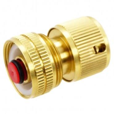 銅製四分自動止水閥接頭