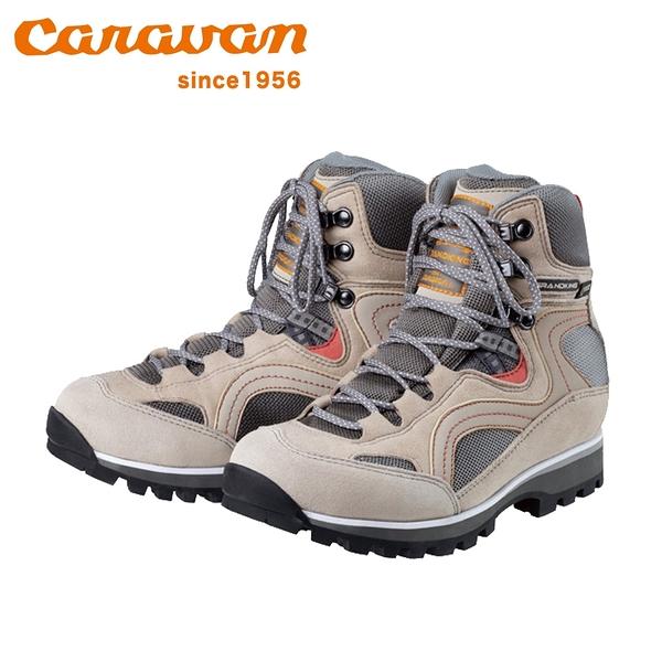 【日本Caravan】GK86女性專用戶外登山健行鞋 米棕