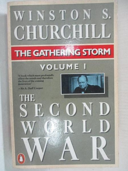 【書寶二手書T3/歷史_HSC】The Second World War, Volume 1: The Gathering Storm_Winston S.Churchill