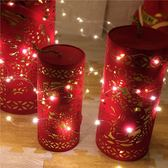 迷你房間led小彩燈閃燈串燈銅線USB滿天星星燈掛燈裝飾銅絲小燈泡 英雄聯盟